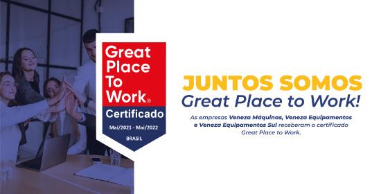 Empresas do Grupo Veneza recebem o selo Great Place to Work